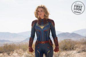 Carol Danvers ou Capitã Marvel interpretada por Brie Larson