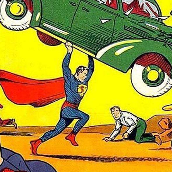 novos super-heróis