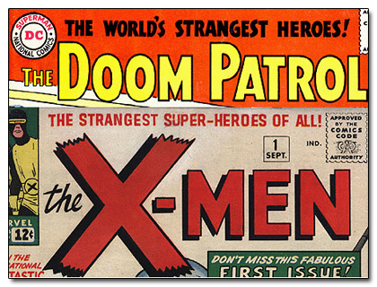X-Men + Patrulha do Destino