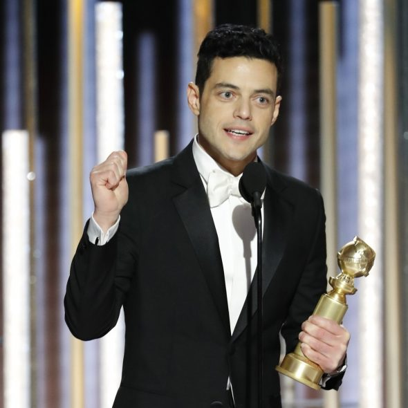 Rami Malek vence o Globo de Ouro