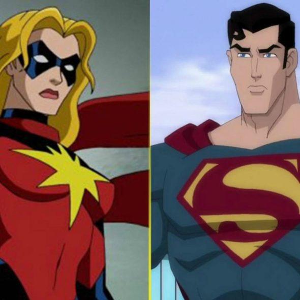Capitã Marvel Vs Superman
